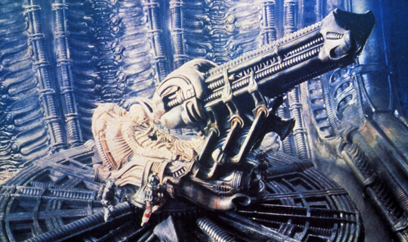 Space Jockey in Alien