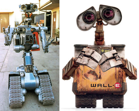 No.5 vs Wall-E